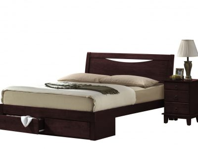 Кровать 2300-A-FBD-WSR-BW