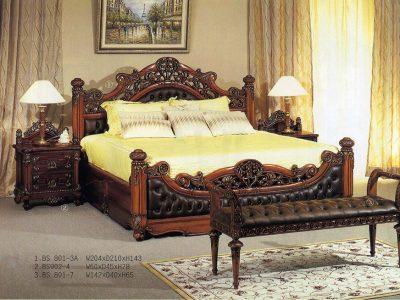 Кровать 2-сп.BS-801-3A