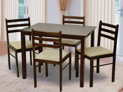 Комплект стол+4 стула