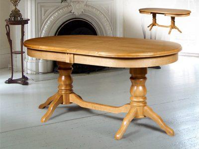 Обеденный стол из массива Зевс